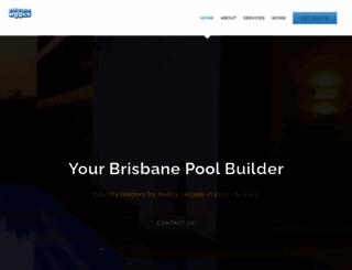 coolnbluepools.com.au screenshot