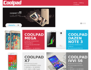 coolpadindia.in screenshot