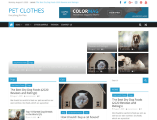 coolpetclothes.com screenshot