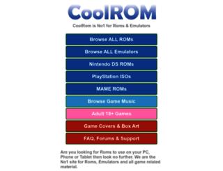 coolrom.eu screenshot
