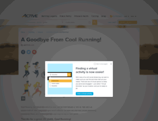 coolrunning.com screenshot