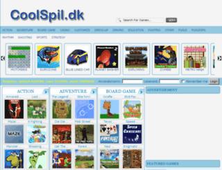 coolspil.dk screenshot
