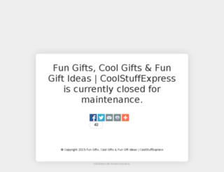 coolstuffexpress.com screenshot