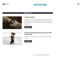 cooltechwear.com screenshot