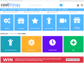 coolthings.com.au screenshot