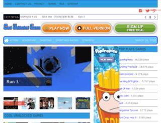 coolunblockedgames.com screenshot
