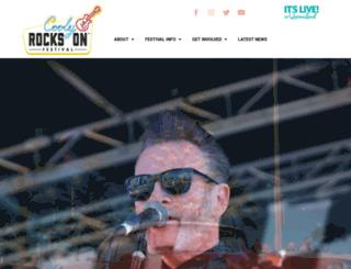 coolyrockson.com screenshot