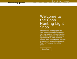 coonhuntinglight.com screenshot