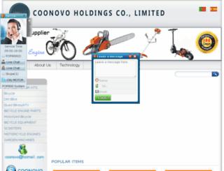 coonovo.com screenshot