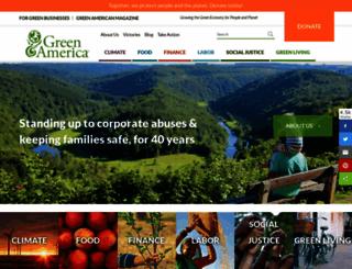 coopamerica.org screenshot