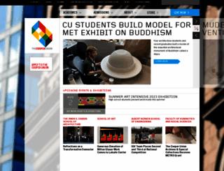cooper.edu screenshot