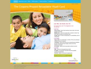 cooperacard.com screenshot
