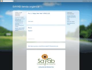 cooperativa-sayab.blogspot.com screenshot