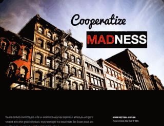 cooperatizemadness.splashthat.com screenshot