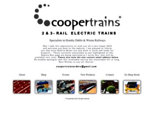 coopertrains.com screenshot