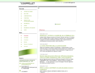 cooppellet-com.webnode.it screenshot