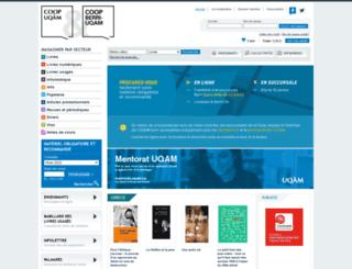 coopuqam.com screenshot
