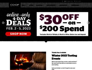 coopwinespiritsbeer.com screenshot