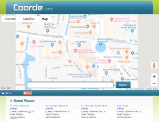 coorde.com screenshot