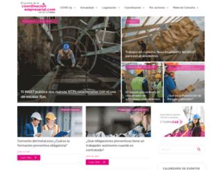 coordinacionempresarial.com screenshot