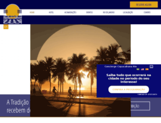 copacabanariohotel.com.br screenshot