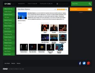 copadamziplama.oyunu.net screenshot