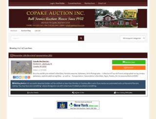 copakeauction.hibid.com screenshot