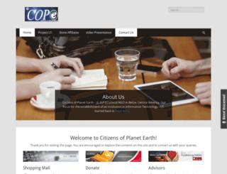 cope.edu.bz screenshot