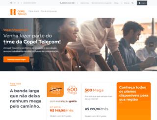 copel.net screenshot