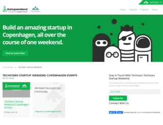 copenhagenhealth.startupweekend.org screenshot