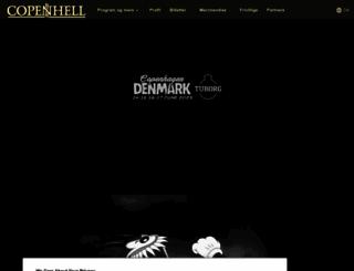 copenhell.dk screenshot