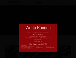 copex.de screenshot