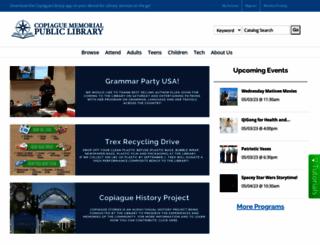 copiaguelibrary.org screenshot