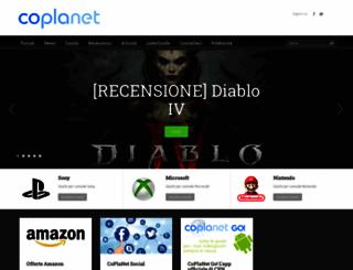 coplanet.it screenshot