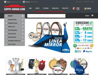 coppe-targhe.com screenshot