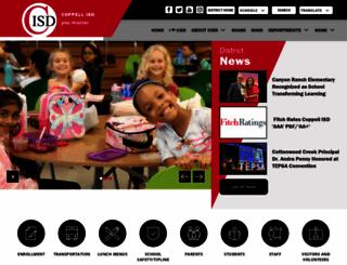 coppellisd.com screenshot