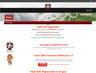 coppellyouthsoccer.com screenshot