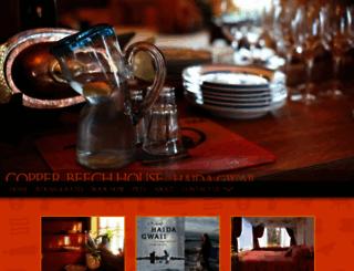 copperbeechhouse.com screenshot