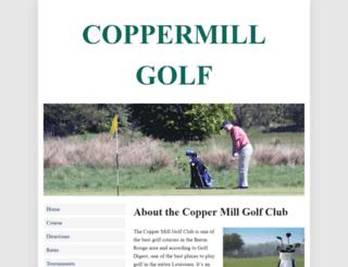 coppermillgolf.com screenshot