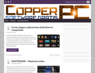 copperpc.cl screenshot