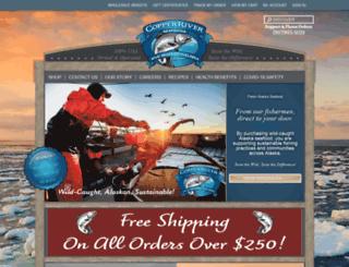 copperriverseafoods.com screenshot