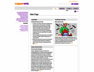 copperwiki.org screenshot