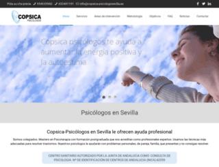 copsica-psicologosevilla.es screenshot