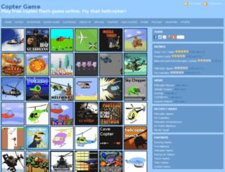 copter-game.com screenshot