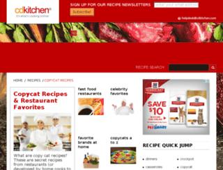 copycat.cdkitchen.com screenshot