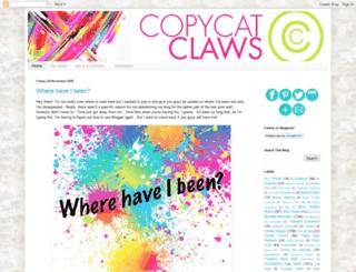 copycatclaws.blogspot.ca screenshot
