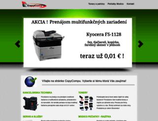 copycomp.sk screenshot