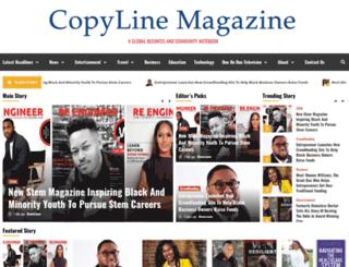 copylinemagazine.com screenshot