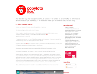 copyloto.blogspot.com screenshot