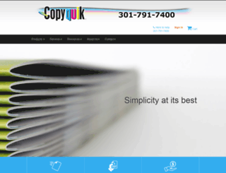 copyquik.com screenshot